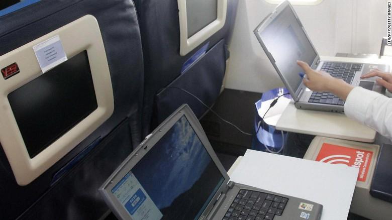 electronic bans, compagnies aériennes, Etats-Unis, Europe