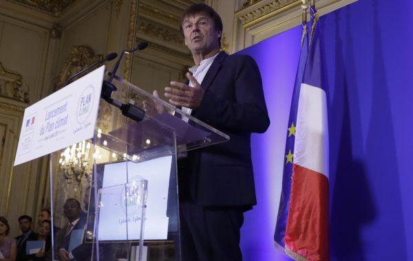 Nicolas Hulot, plan climat