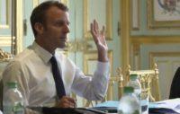 Macron, aides sociales