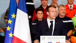 Inondations Aude, Emmanuel Macron, France