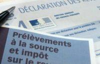 prélèvement à la source, impôt sur le revenu, France