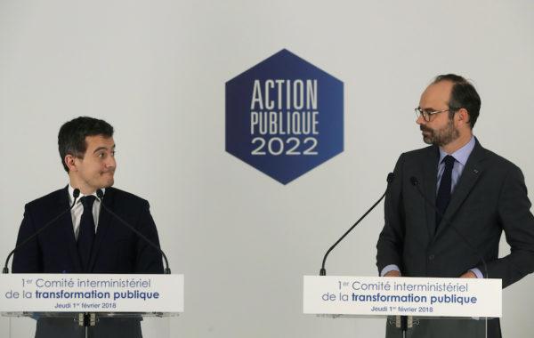 fonction publique, France, suppression de postes