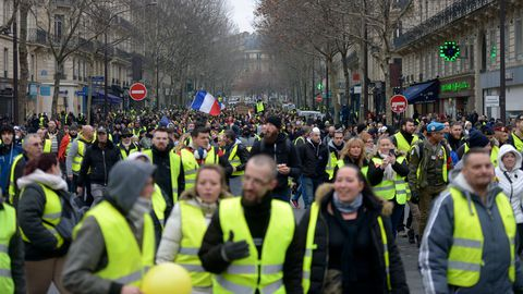 Gilets jaunes, Grand débat national, RIC