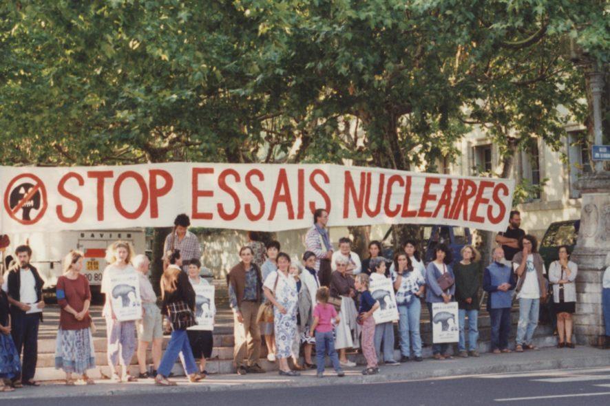 pacifistes, dissuasion nucléaire
