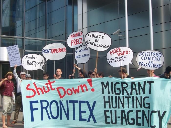 Frontex, migrants, droits de l'homme