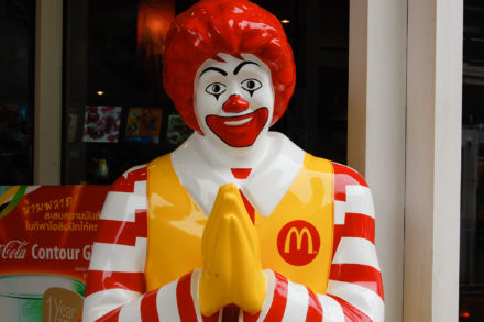 McDonald's, harcèlement sexuel