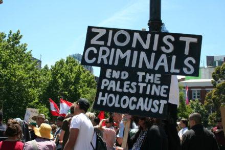 antisémitisme, antisionisme