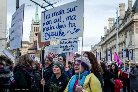 féministes, violences policières