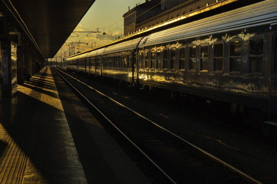 train de nuit, Paris, Nice