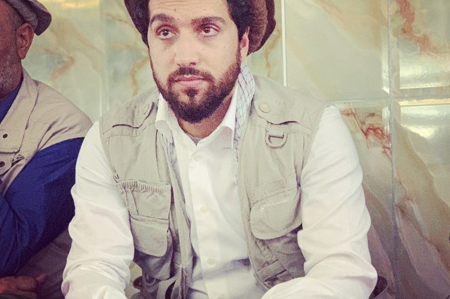 Ahmad Massoud, Afghanistan